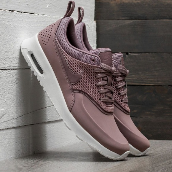 best website new design brand new EUC NIKE Air Max Thea (Taupe/Grey) Premium Leather